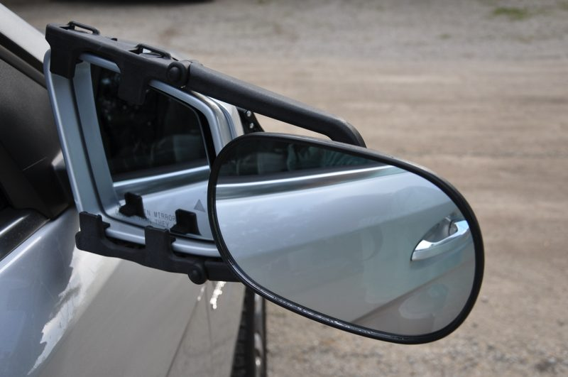 Bob added side towing mirrors to the SUV and they worked perfectly.