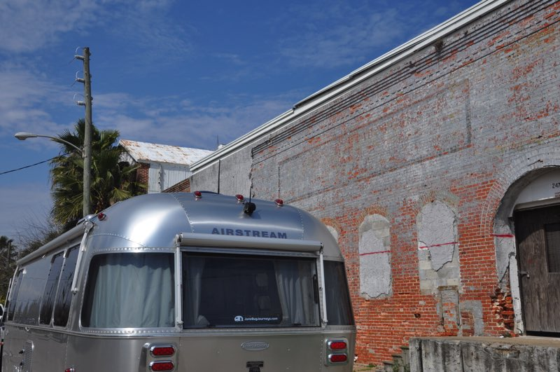 We parked the June Bug along the street in the old part of Apalachicola