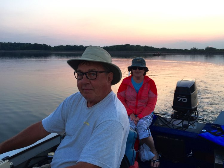 The Skipper (Frank) and his First Mate (Susan)