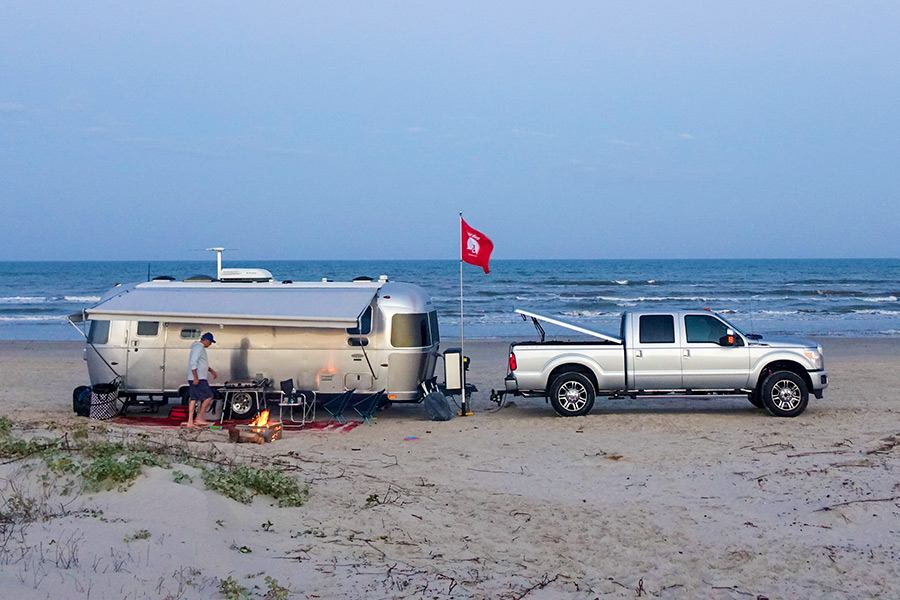 Boondocking on the Beach