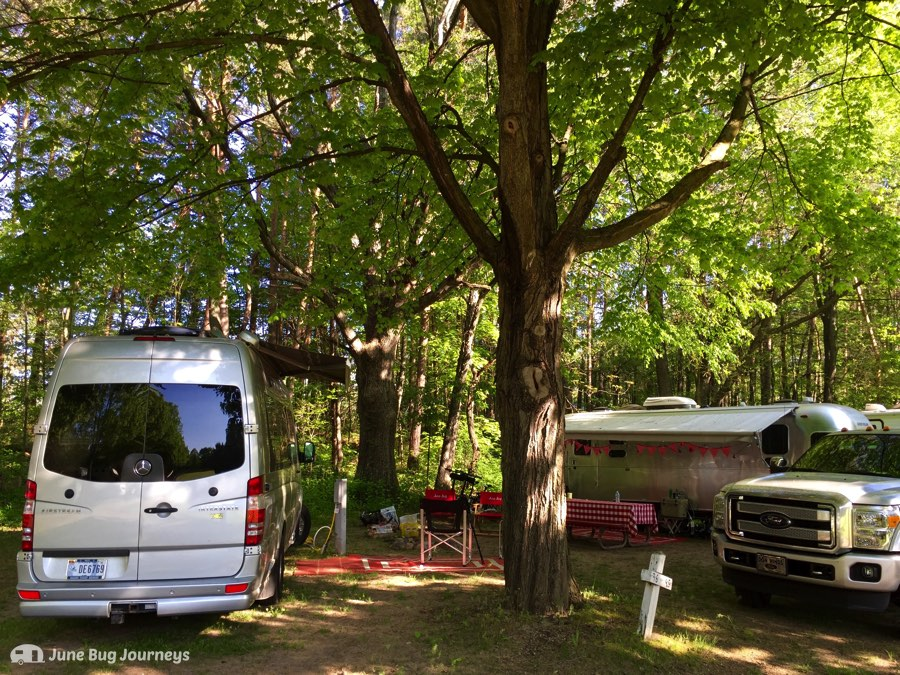 Sites 106 and 108 at Pokagon State Park