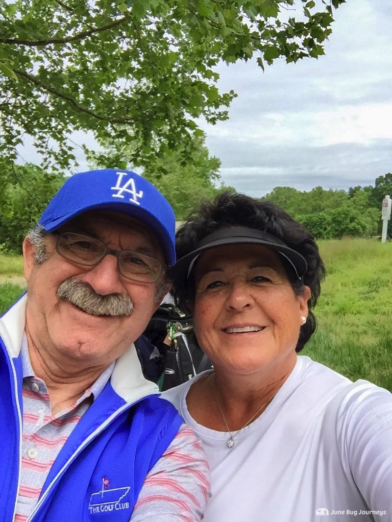 Bob and the great Nancy Lopez