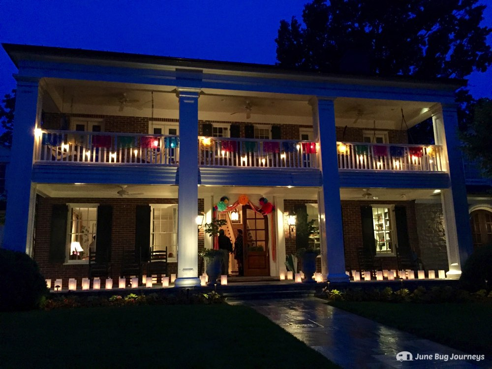 We were honored to be invited to a private thank-you event at Vince Gill and Amy Grant's home