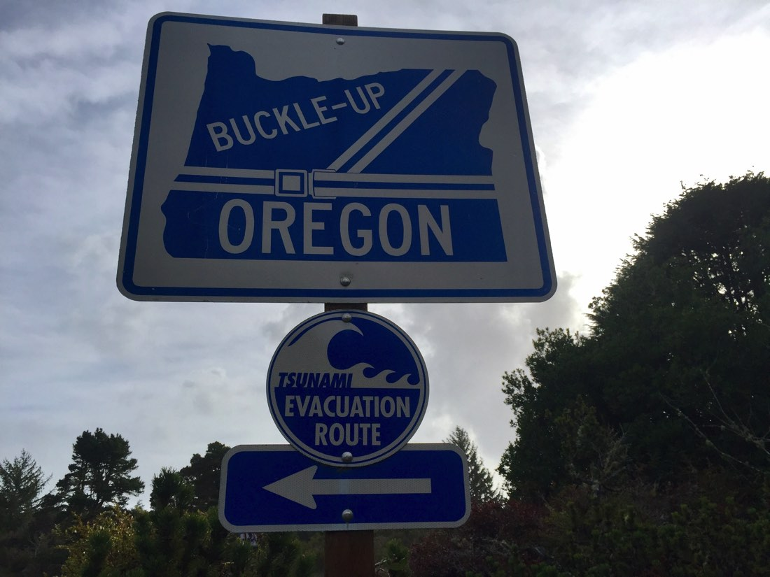 Oregon is well prepared for evacuation due to weather!