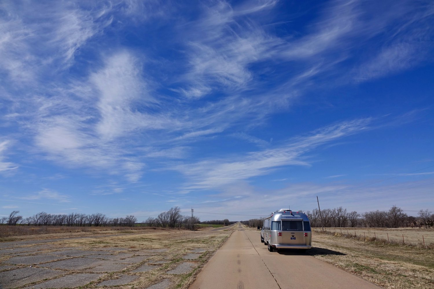 Route 66 in Western Oklahoma