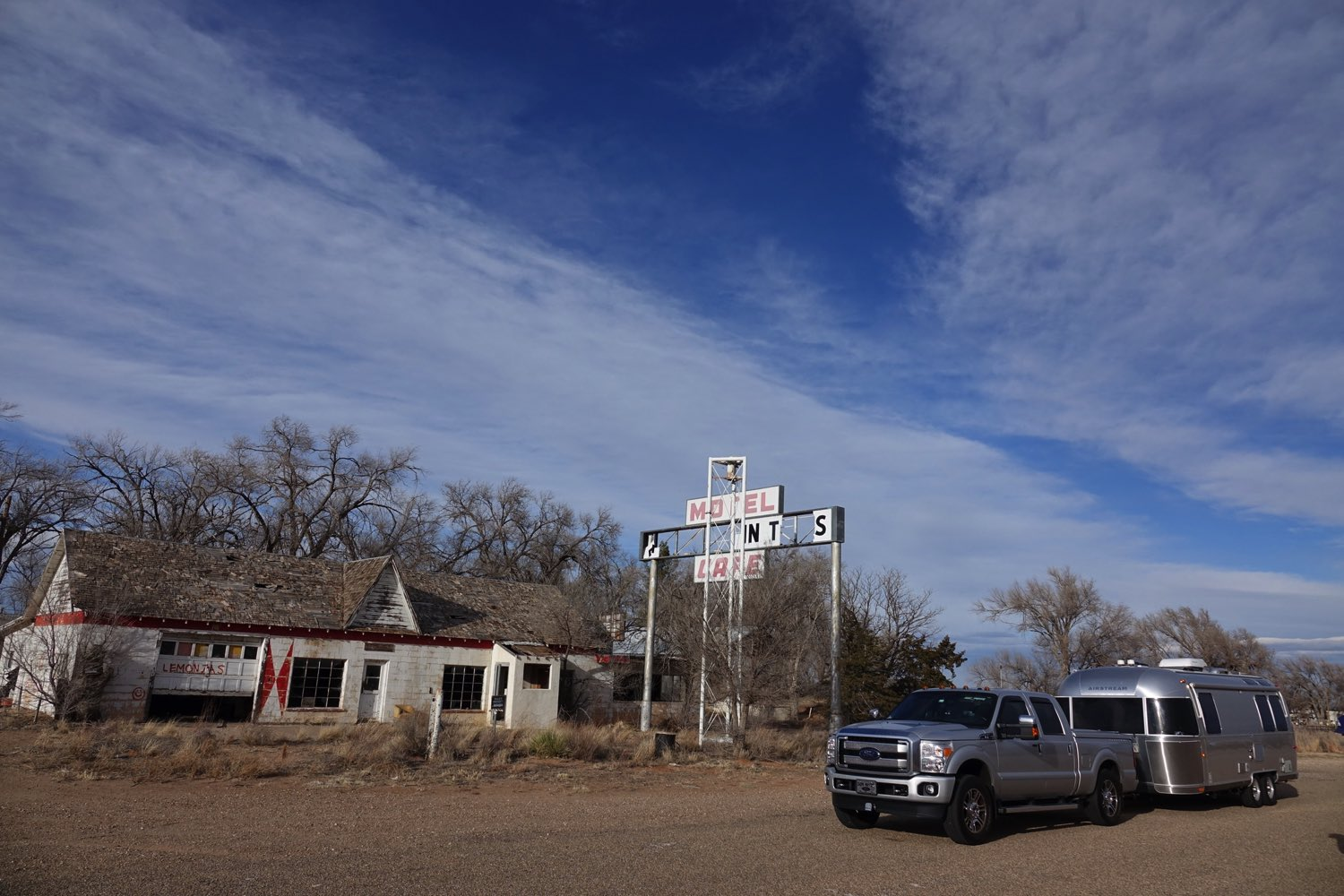 First Motel in New Mexico!