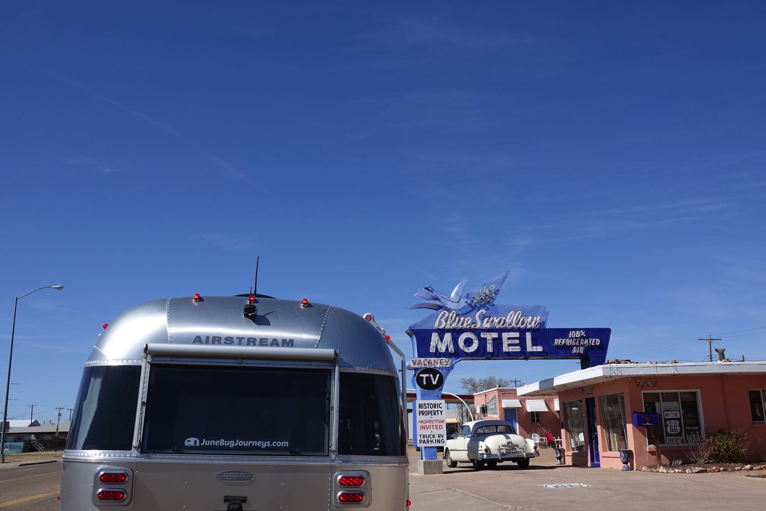Blue Swallow Motel, Tucumcari - CLOSED!